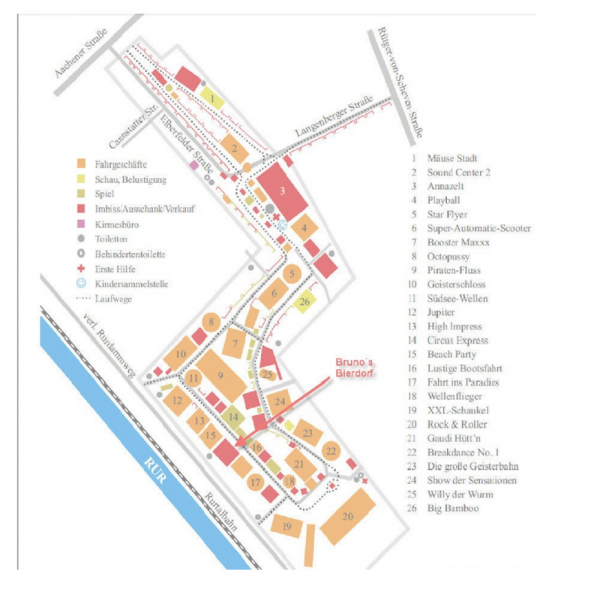 Image 2: Plan of Carnival Grounds